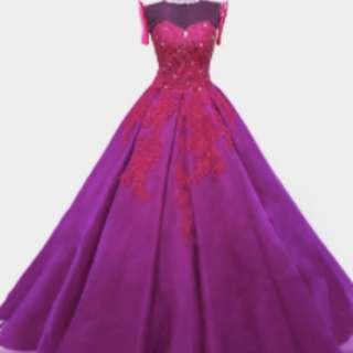 Violet Gown (Vada)