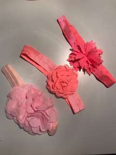 Floral Headbands for Babies/Girls