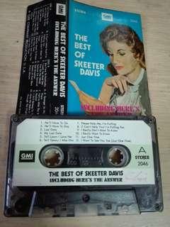 The Best Of Skeeter Davis Cassette
