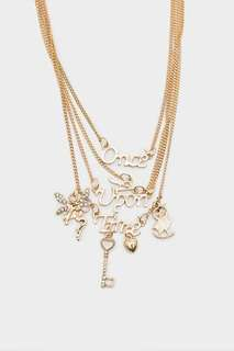 Mika Double Layer Necklace Gold