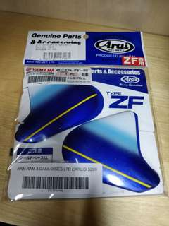 Ready Stock Arai Ram 3 Earlid Gauloises