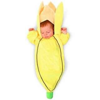 Dream Weavers Baby Go Bananas Bunting Newborn Costume