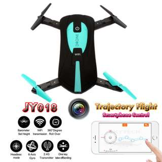 JY018 Phone WIfi Remote Contorl Flying Pocket Drone