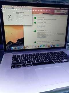 """MacBook Pro 15.6"""" 2015"""