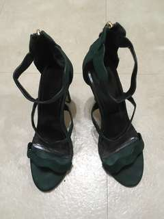 repriced!!! used. SM PARISIAN (forest green)