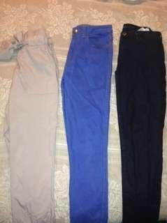 Tie pants/ Lower jeans/ Levis jeans