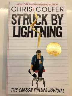 Struck by lightning (Chris Colfer)