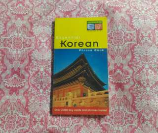 Periplus Korean Phrase Book