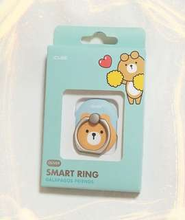 ( OLIVER ) SMART RING 手機指環扣 / ICUBE/ GALAPAGOS FRIENDS  Made in  Korea 100% New 韓國帶回 /  ST-12