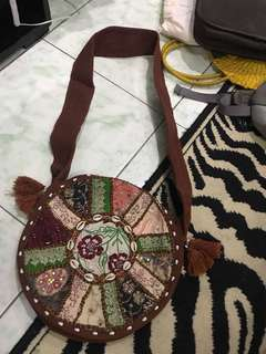 REPRICED!! Patched hippie sling