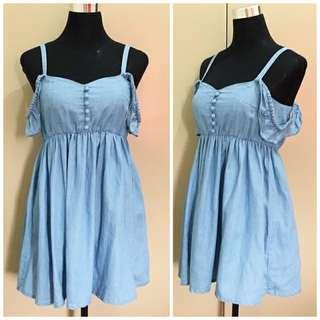 Repriced! Mini Denim Dress