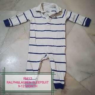 baby preloved sleepsuit