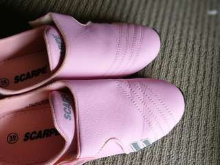 Brand new pink shoes