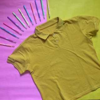 Mustard Polo Shirt