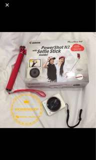 Canon power shot N2 + ori selfie stick ⭐️👍🏻👍🏻