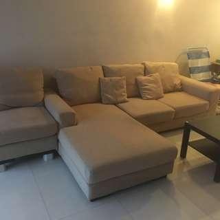 Macy L-Shape Sofa