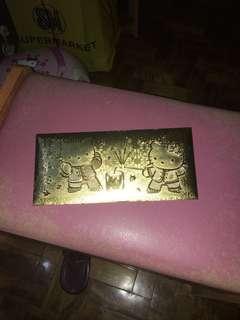HK foiled envelope