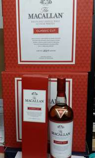 Macallan Classic Cut 2017 Edition 700ml香港行貨