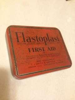 Vintage Elastoplast First Aid Tin