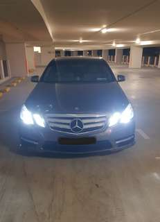 E250 for rent!!! Only for long term