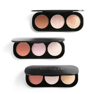 Focallure trio blush + highlight