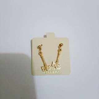 US Fancy 14k overlay Earrings