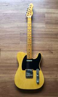 TMG Guitar Co '52 Gatton Custom Butterscotch Blonde