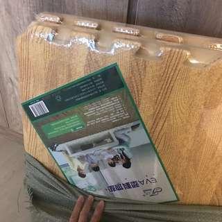 Eva Light Wood Grain Foam Mat