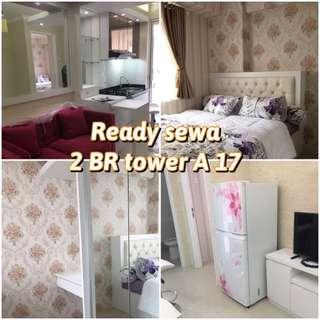 Apartemen bassura city 2 Br furnished