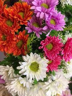 Artificial Daisy Bouquet 3s