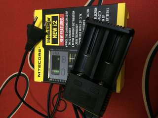 Authentic Charger Nitecore i2 new version