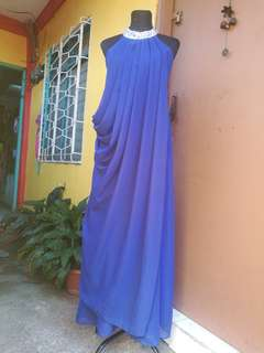 Royal Blue - Long Gown
