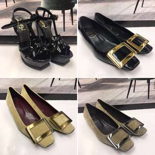 照價再75折size 34 Flat Shoes High Heel 大優惠