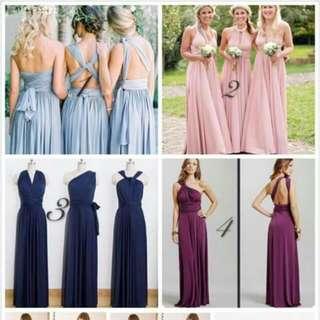 AJ_Infinity dress /multiway dress /Bridesmaid dress /Beach summer dress /evening party dress