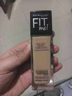 Fit Me Foundation Dewy smooth #nude beige