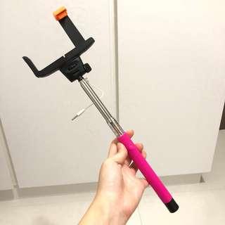 Selfie stick 插線 自拍神器 自拍神器