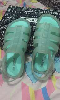 Authentic Mini Melissa Flox Green S7