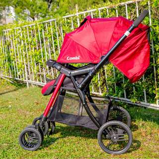 Combi Mega Ride 嬰兒手推車 紅色