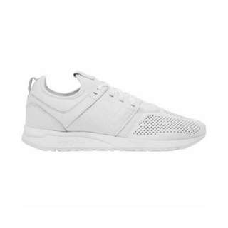 NB MRL247 all white leather