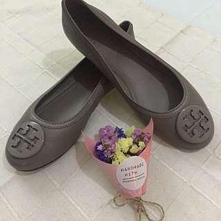 Tory Burch 真皮 Flat Shoe