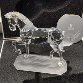 Swarovski 水晶擺設 阿拉伯駿馬