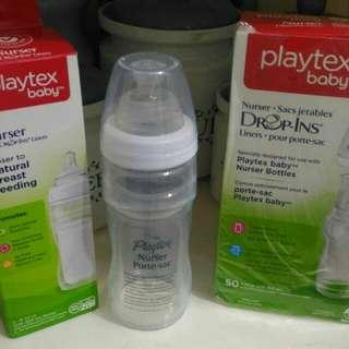 playtex nurser dropin bottle