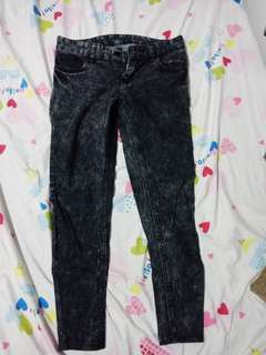 Black pants from korea