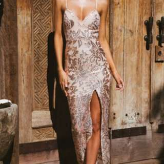 Sequin Ball Dress