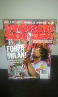 FOOTBALL Magazine - World Soccer July 2003