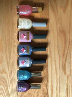 Whole lot of assorted nail polishes (total 15)