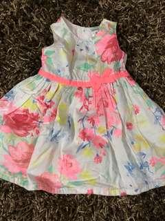 Carters Floral Dress