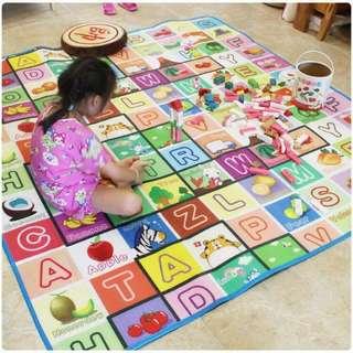 Play and Crawl Toddler Play Mat