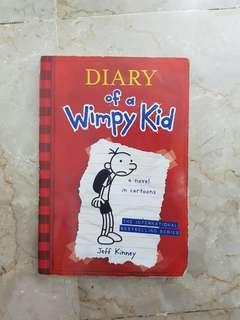 DIARY OF A WIMPY KID (NOVEL)