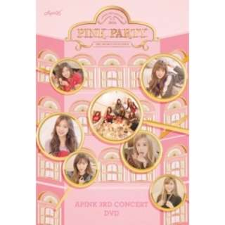 [PO] APINK 3rd Concert DVD - PINK PARTY (2 DISC)